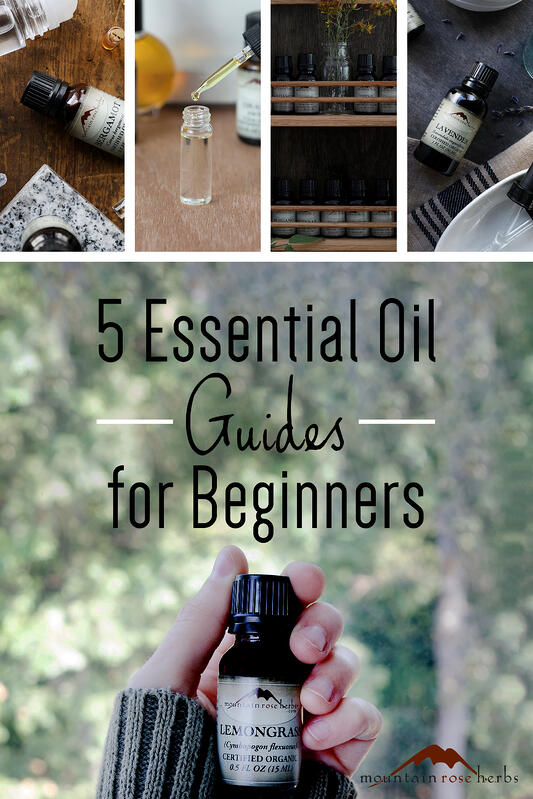 5 essential oil guides for aromatherapy beginners. These guides will teach you how to properly store your essential oils, conversion rates and dilution rate for essential oils, essential oil blending tips, and more for home aromatherapy needs.