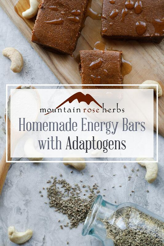 Pin for Homemade energy bars with adaptogens