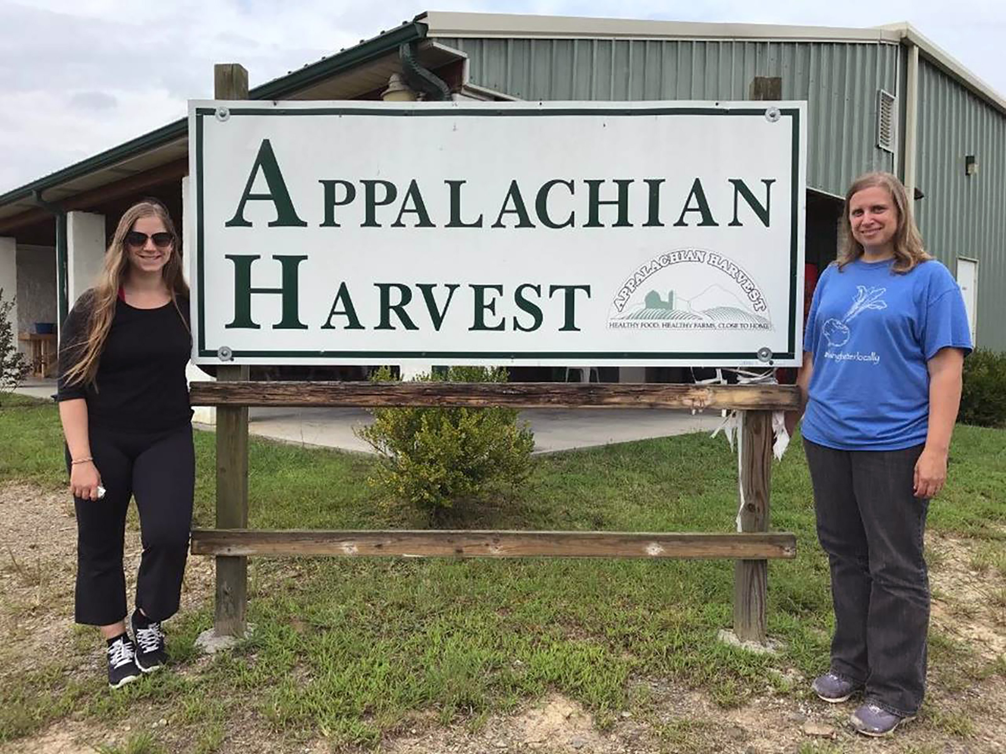 Members of the Appalachian Sustainable Development team and their Appalachian Harvest initiative.