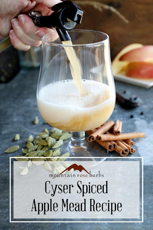 Pin for Cyser Spiced Apple Mead Post