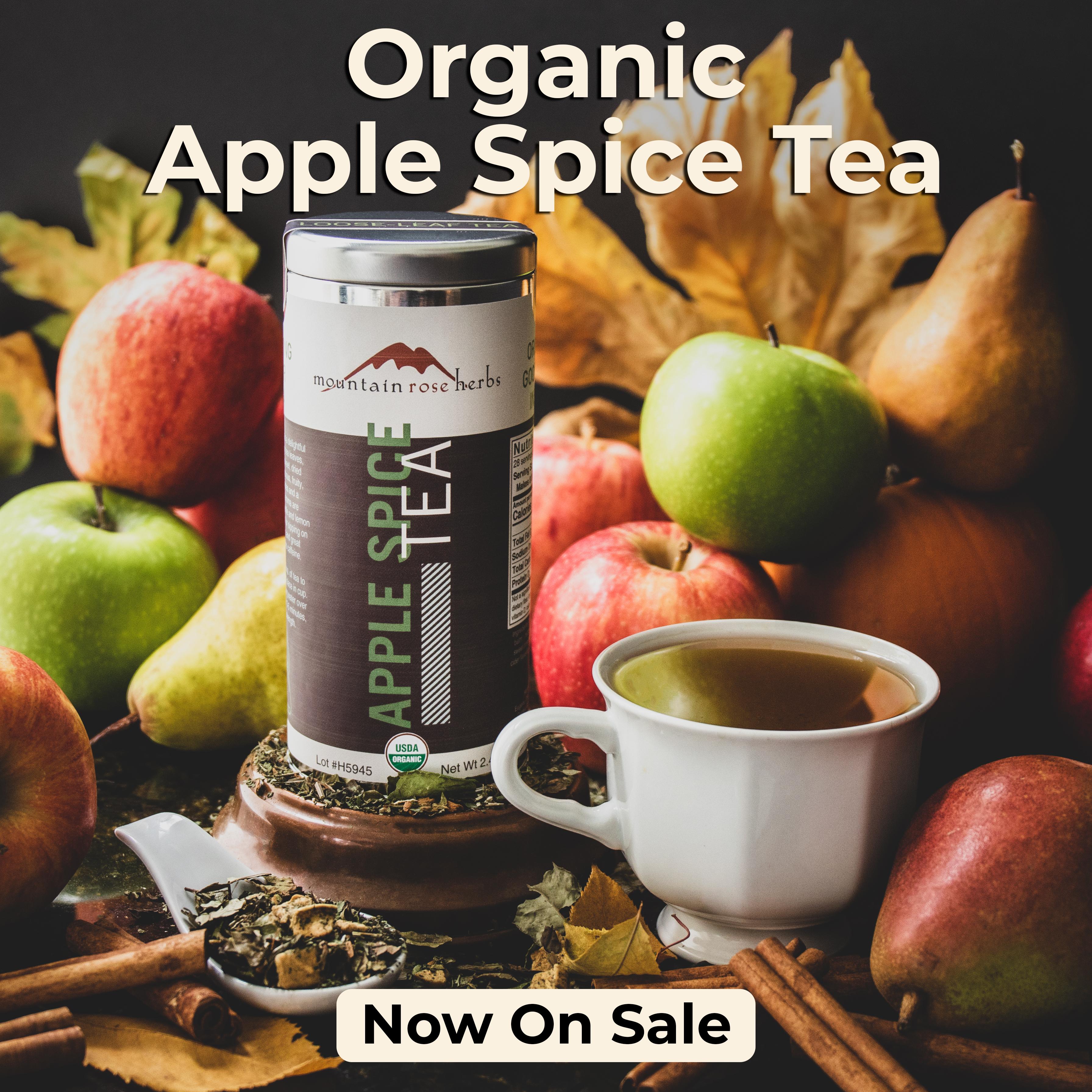 Apple Spice Tea- Now on Sale!