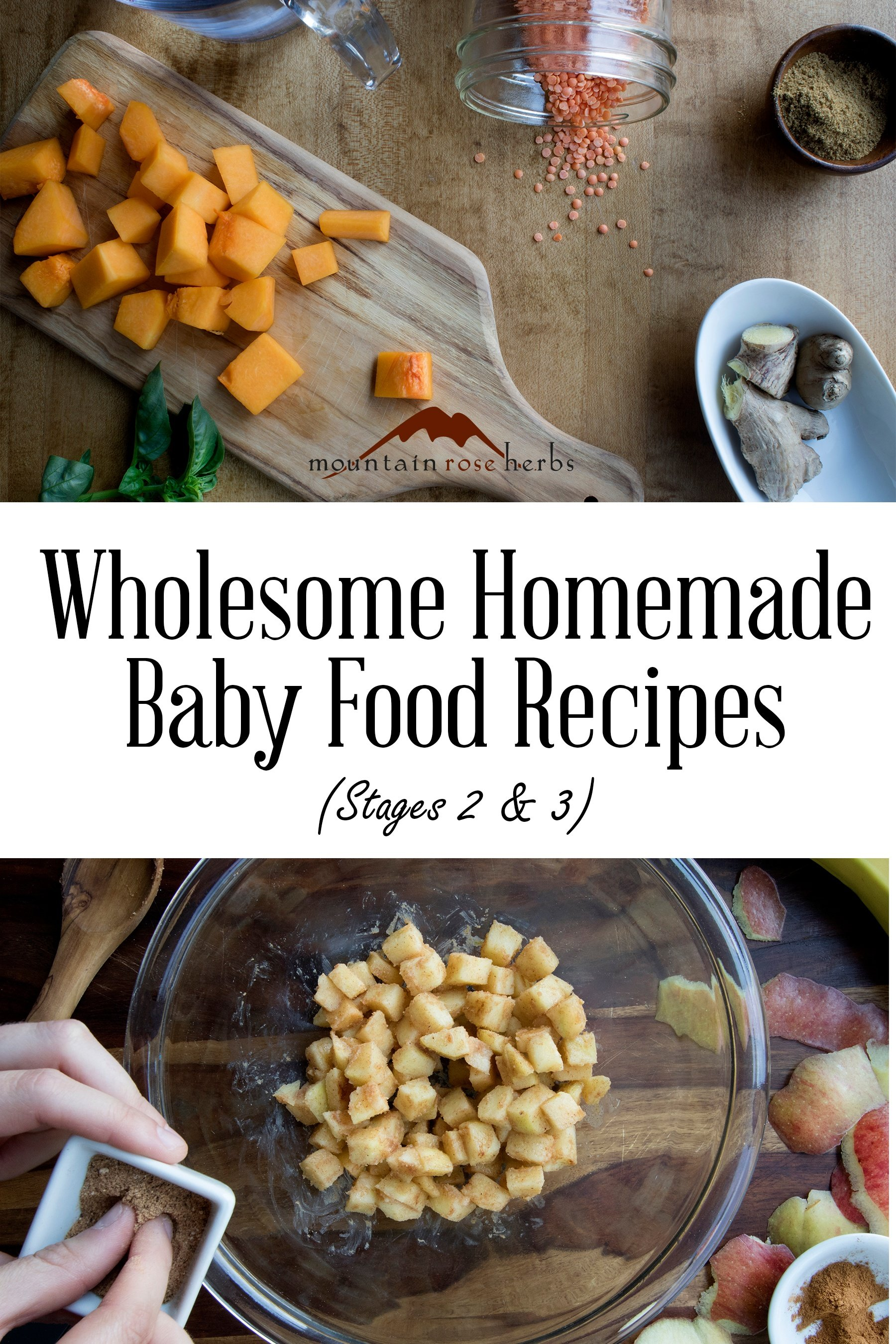 Pin for Wholesome homemade baby food recipes