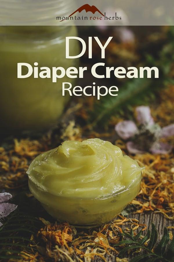 DIY Diaper ointment in a bowl.