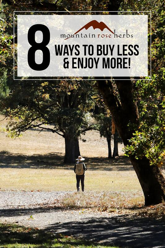 Pin for 8 ways to buy less and enjoy more