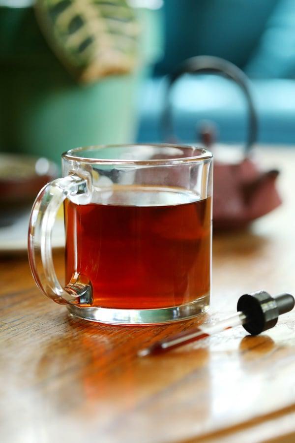 Catnip Tea with tincture pipette