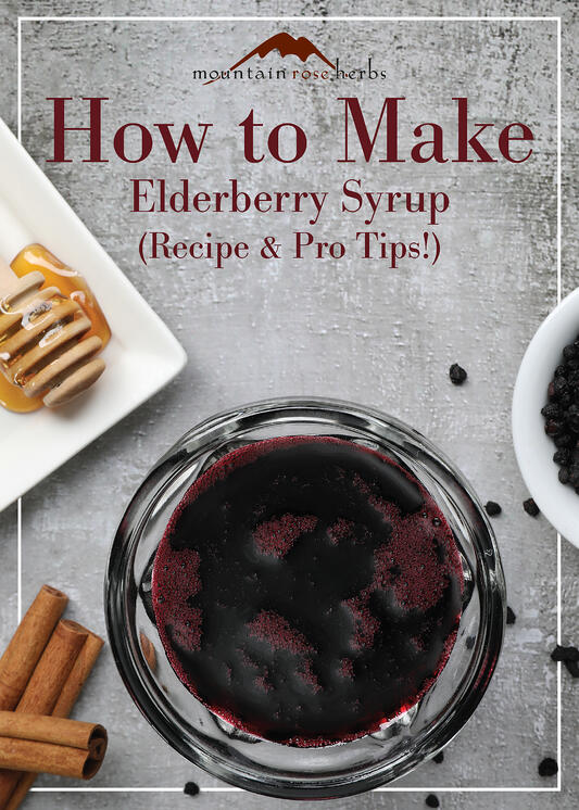 Pin to How to Make Elderberry Syrup with Recipe and Pro Tips.