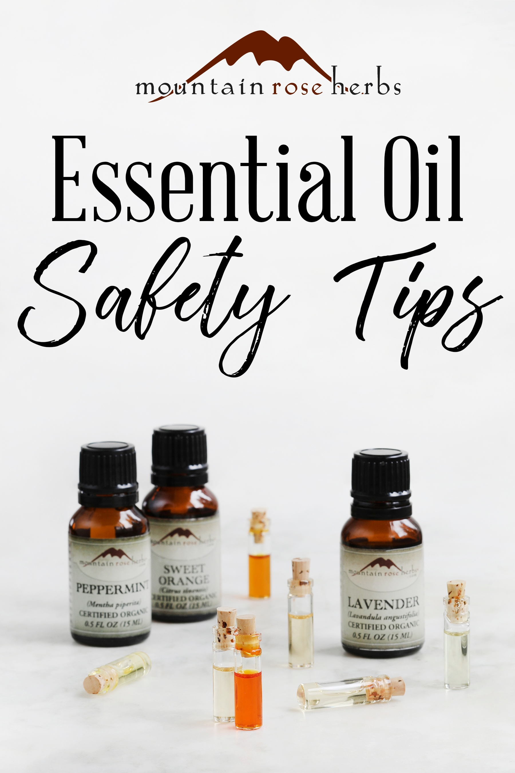Pin to Essential Oil Safety Tips from Mountain Rose Herbs