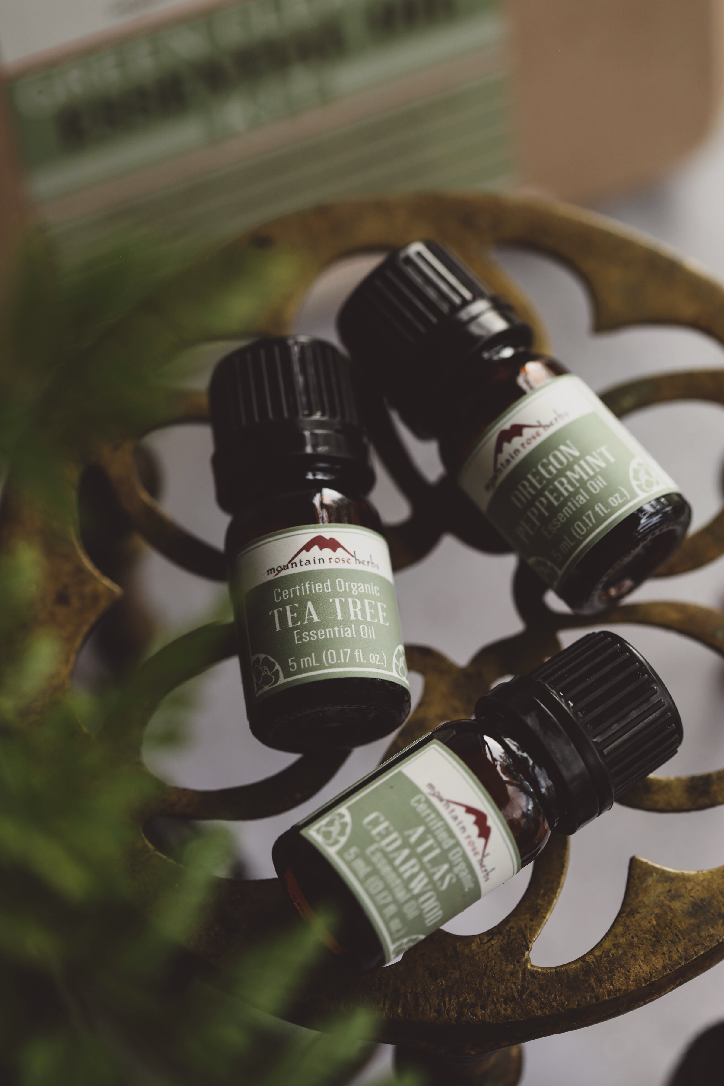 Essential Oils for Green Cleaning