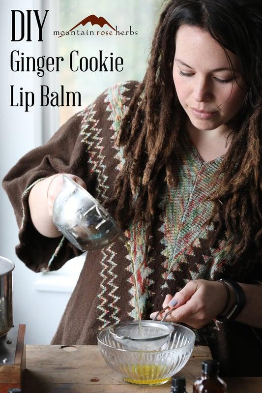 Pin to DIY Ginger Cookie Lip Balm Recipe