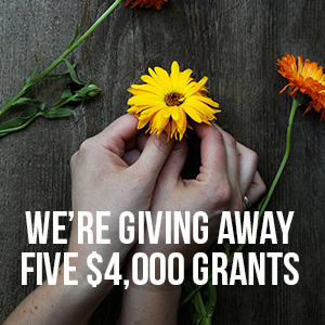 We're Giving Away Five $4,000 Grants