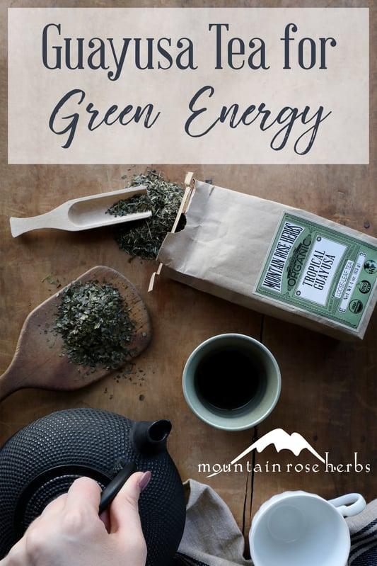 Pin to Guayusa Tea for Green Energy