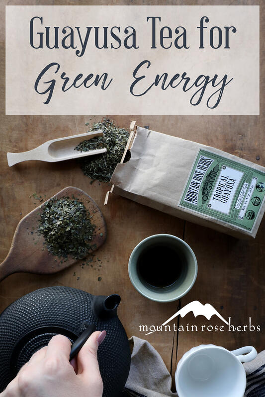 Pin to Guayusa Tea for Green Energy