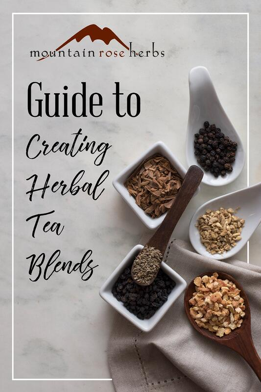 Pin to Guide to Creating Herbal Tea Blends