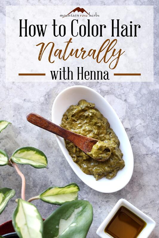 Pin for how to color hair naturally with henna.