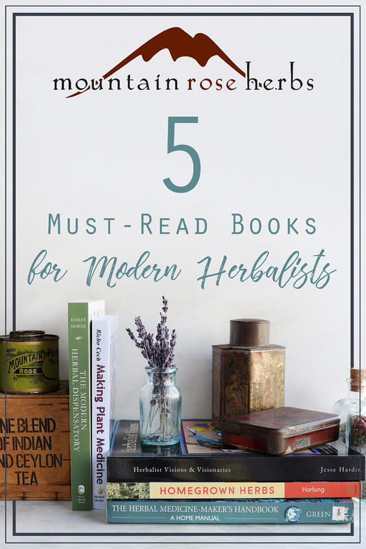 Five must-read books for modern herbalists!