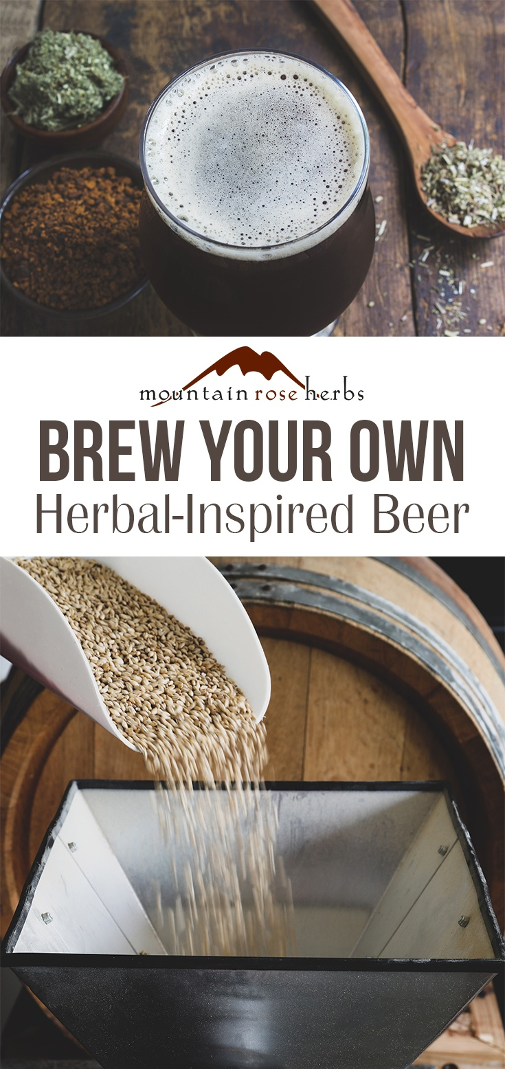 Brew Your Own Herbal-Inspired Beer Pin Mountain Rose Herbs