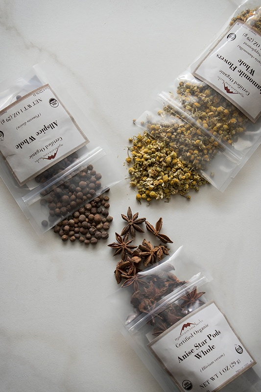 1oz sizes of herbs and spices