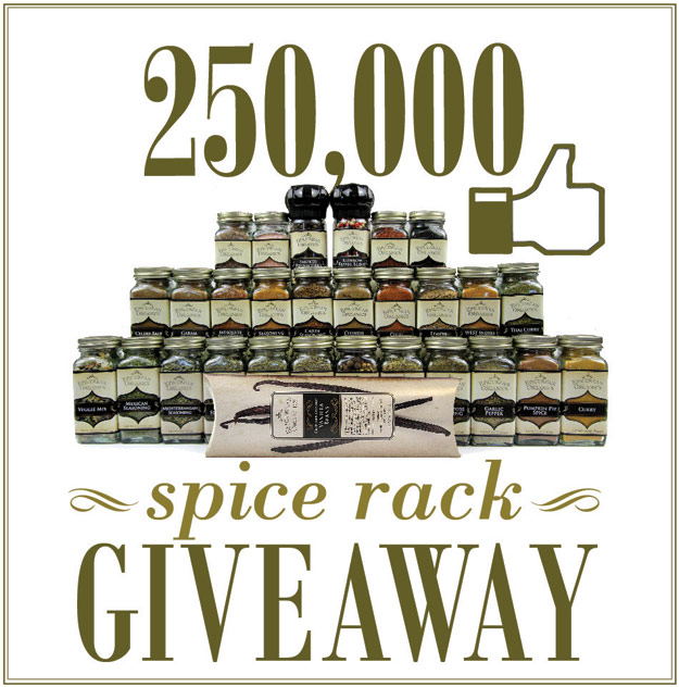 Spice Rack Giveaway from Mountain Rose Herbs!