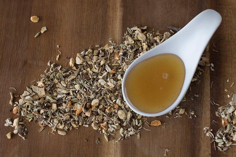 Winter Wellness: 5th Chakra Syrup Recipe