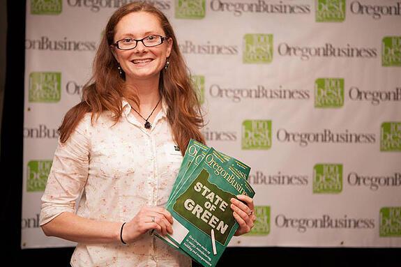Allysa-with-Oregon-Green-Business-magazine
