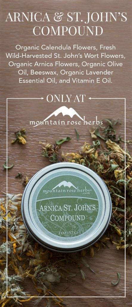 New in the Shop: Arnica/St. John's Compound