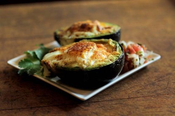 Herbal Eggs: Avocado Egg