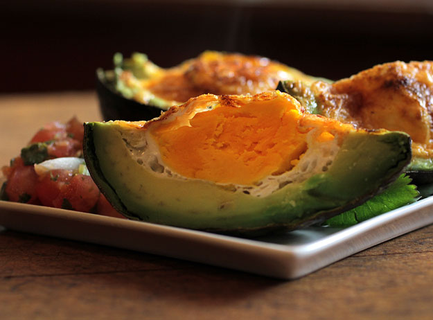 Breakfast Idea: Spicy Avocado Eggs