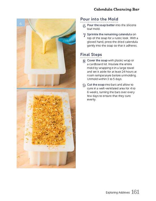 Calendula Cleansing Bar_SoapCrafting_Page_4