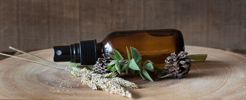 Camping Spray with Herbs