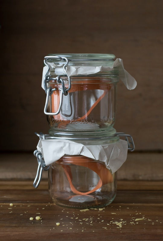 Perfect jars for making candles