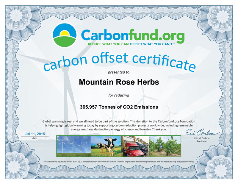 How We Reduce Our Carbon Footprint
