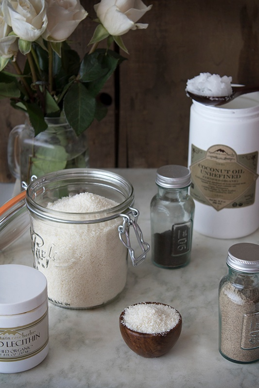 DIY Creamer Ingredients