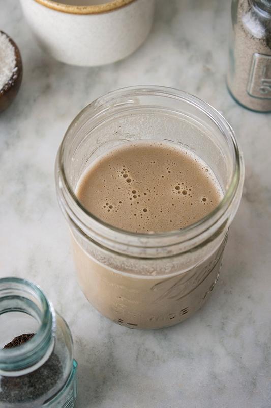 Homemade Creamer in a Mason Jar