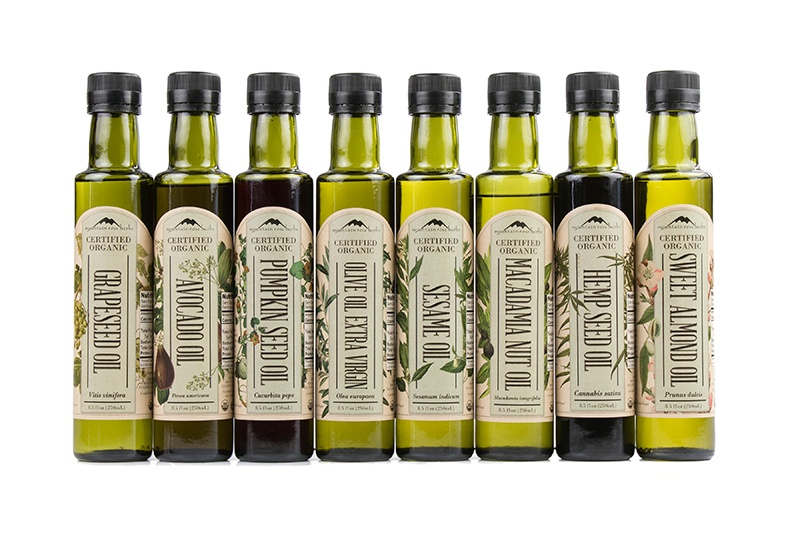 Mountain Rose Herbs - certified organic culinary oils