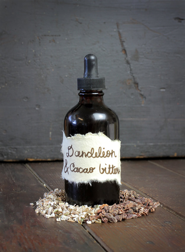 Mountain Rose Herbs - Dandelion & Cacao Bitters Recipe