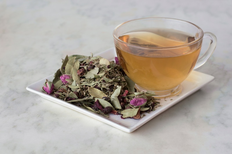 Demeters Tea Brewed with Ingredients