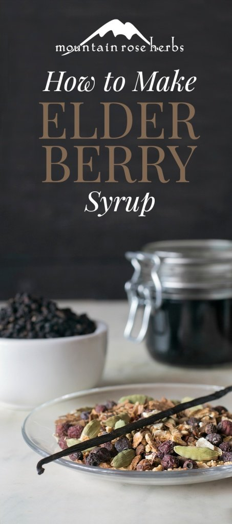 How to Make Your Own Elderberry Syrup with Mountain Rose Herbs!