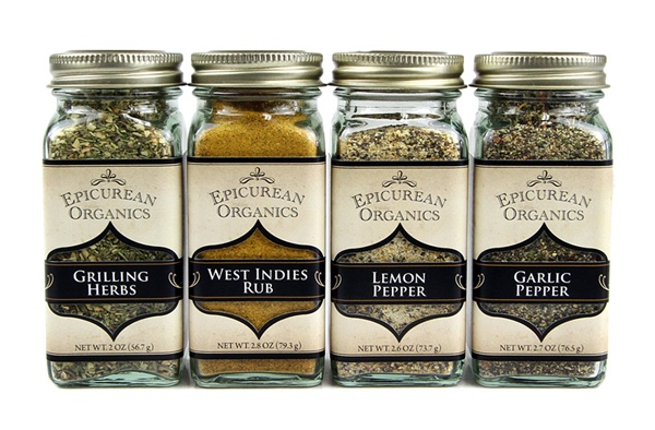 Epicurean Organics Seasoning Blends