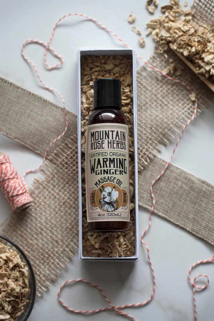 Ginger Massage Oil Mountain Rose Herbs