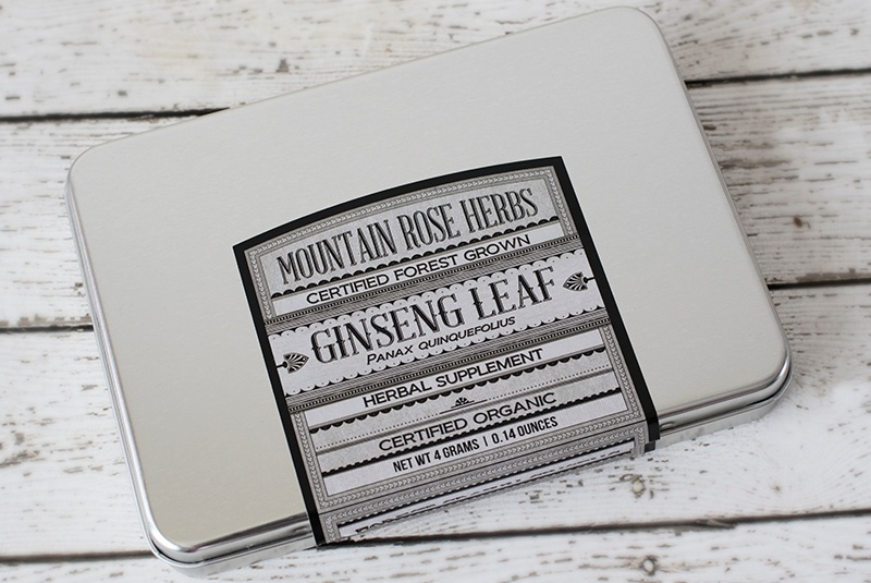 New in the Shop: Forest Grown Organic Ginseng Leaves
