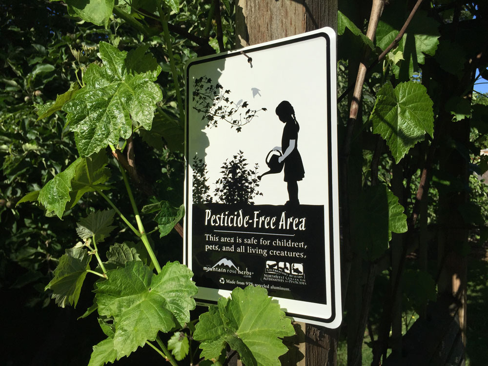 Is Your Garden Pesticide Free?