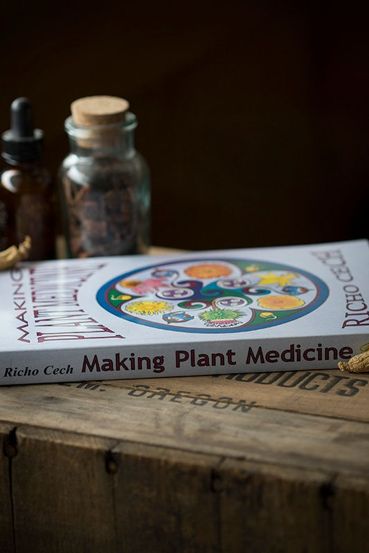 New in the Shop: Making Plant Medicine by Richo Cech!