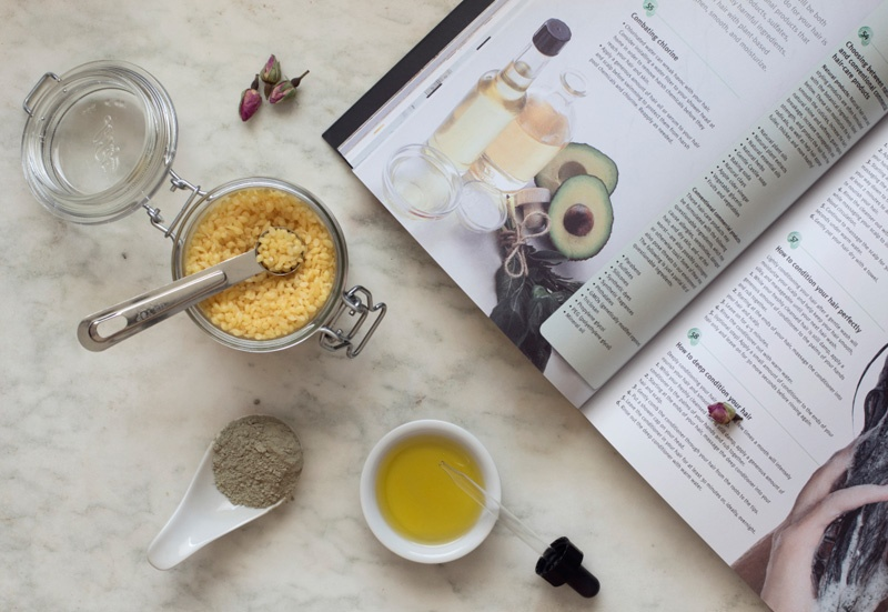 New Natural Beauty Book with Botanical Ingredients