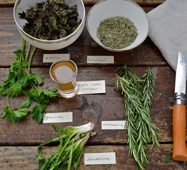 Spring Tonic Vinagar Recipes
