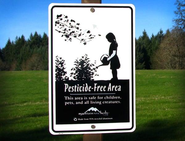 Pesticide-Free Area
