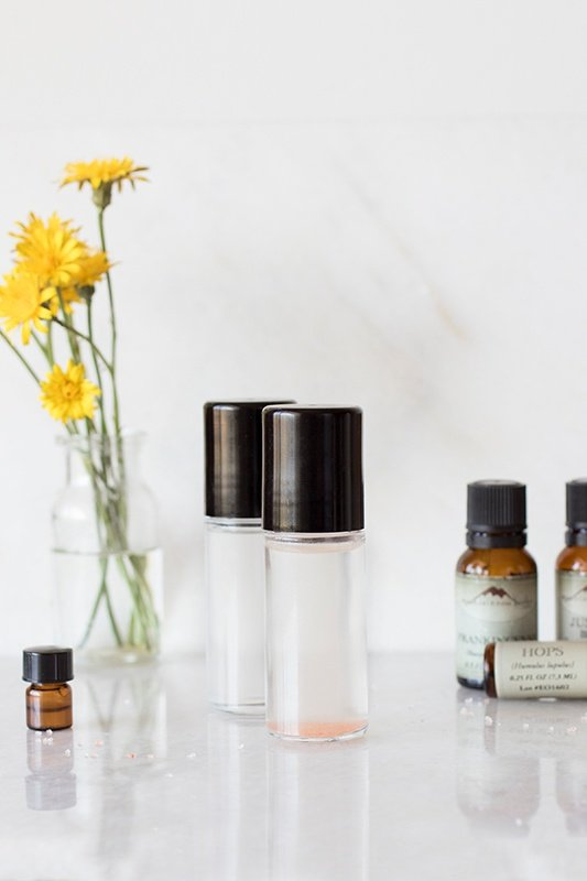 DIY Liquid Roll-On Deodorant