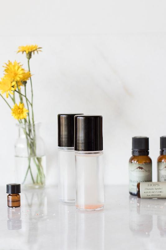DIY Liquid Roll-On Deodorant