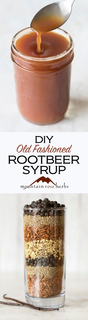 DIY Root Beer Syrup