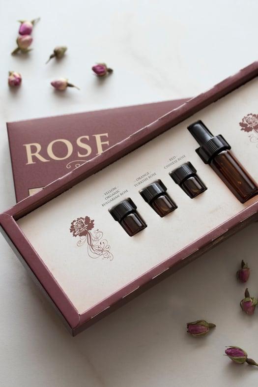 Rose Essential Oil Kit