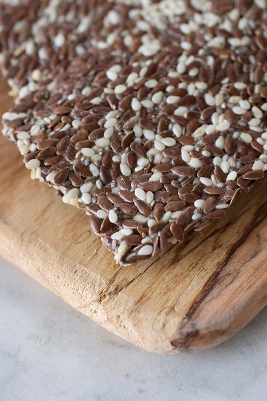How To Make Gluten-Free Seed Crackers